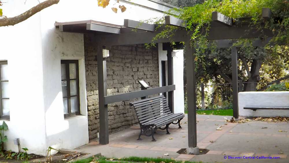 The Murray Adobe in Mission Plaza
