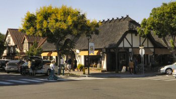 A thatched roof business in Solvang